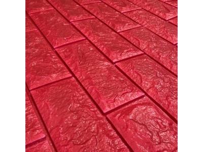 ورق جدران لاصق ذاتي لون أحمر