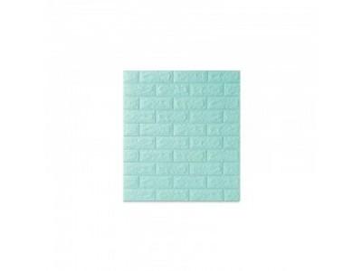 ورق جدران لاصق ذاتي لون تركواز فاتح