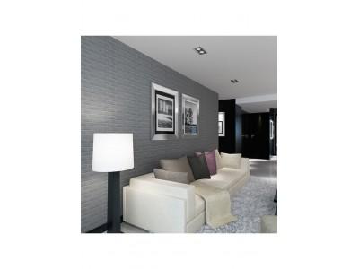 ورق جدران لاصق ذاتي لون رمادي