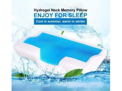 مخدة طبية للنوم مع جل للتبريد ثلاثية الأداء