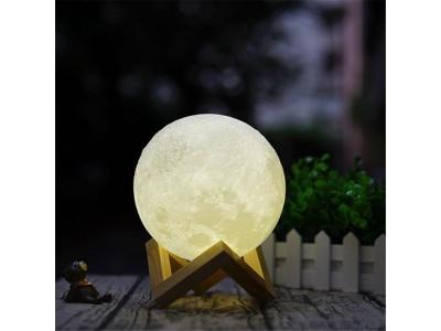 القمر المضي حجم وسط