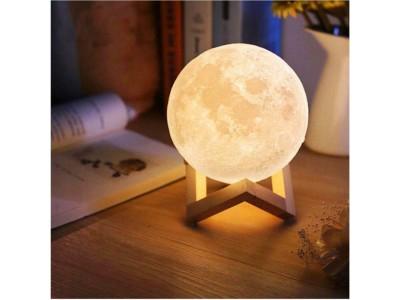 القمر المضيء حجم صغير