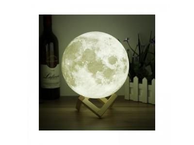 القمر المضي حجم كبير